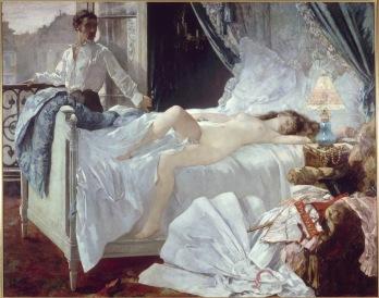 """""""Rolla"""" von Henri Gervex aus dem Jahre 1878. Das Gemälde wird heute im MusÈe d'Orsay ausgestellt. Copyright: ARTE France / © RMN/RÈunion des Musées Nationaux"""