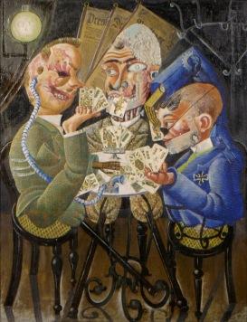 """Otto Dix: """"Die Skatspieler"""" - WDR / © VG Bild-Kunst"""