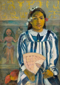"Paul Gauguin -"" ""Tehamana hat viele Ahnen"""", 1893. Sie war die erste Frau des Malers in Tahiti © Art Institute of Chicago"