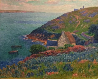 Henri Moret, Port Manec'h, Bretagne, 1896, Musée d'État de l'Eremitage, St. Petersburg © starkandart.com.jpg