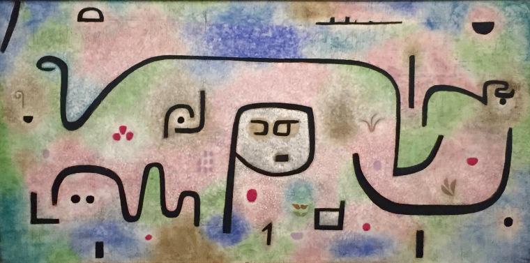 Paul Klee - Insula dulcamara. 1938, 481. Zentrum Paul Klee, Bern