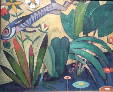 Amadeo de Souza-Cardoso. Der Sprung des Hasen, um 1911 © starkandart.com