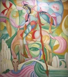 Amadeo de Souza-Cardoso, ohne Titel (Don Quichotte), um 1914 © starkandart.com