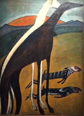 Amadeo de Souza-Cardoso. Windhunde, um 1911 © starkandart.com