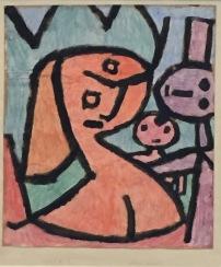 Paul Klee - böses Müeti. 1939, 1110. Ständige Sammlung Centre Pompidou, Paris © starkandart.com