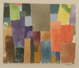 Paul Klee - grünes x links oben. 1915, 52. Ständige Sammlung Schweiz © starkandart.com
