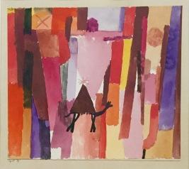Paul Klee - mit dem braunen ∆. 1915, 39. Kunstmuseum Bern © starkandart.com