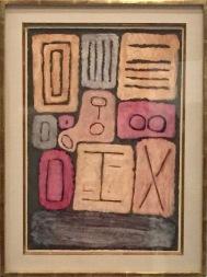 Paul Klee - Sammlung heiliger Steine, 1937, 1 Centre Pompidou, ständige Sammlung © starkandart.com