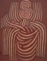 Paul Klee - Umfangen. 1932, 67. Staatl. Museen zu Berlin, Nationalgalerie © starkandart.com