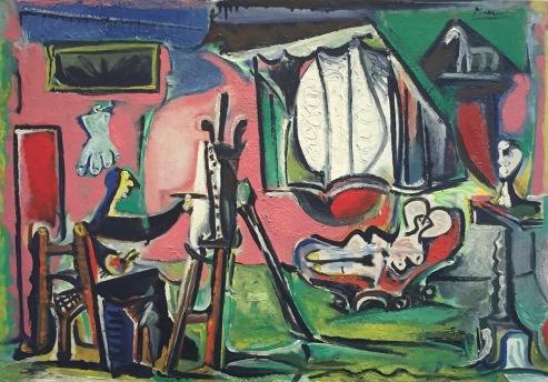 Der Maler und sein Modell im Atelier, 17. März bis 9. April 1963 © starkandart.com