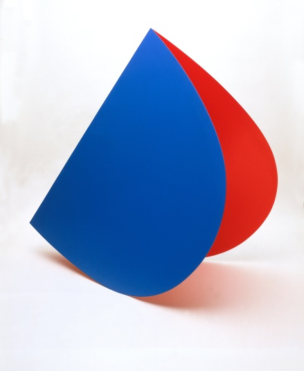 Ellsworth Kelly; Blue Red Rocker; 1963