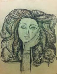 Françoise Gilot, Musée Picasso, Paris © Starkandart.com