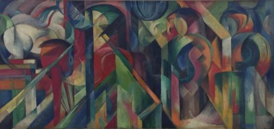 Franz Marc, Stallungen, 1913, Solomon R. Guggenheim Museum, New York © starkandart.com