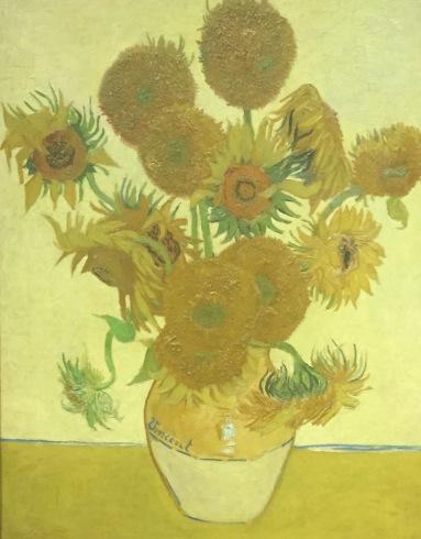 Vincent van Gogh, Sunflowers, 1888, National Gallery, London © starkandart.com