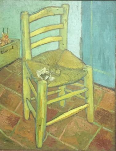 Vincent van Gogh, Van Gogh's Chair, 1888, National Gallery, London © starkandart.com