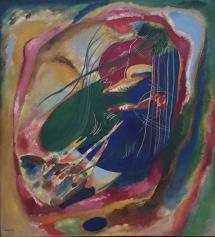 Wassily Kandinsky, Bild mit drei Flecken, 1914, Museo Thyssen-Bornemisza, Madrid © starkandart.com