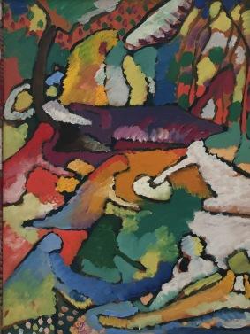 Wassily Kandinsky, Fragment zu Komposition II,1910, Merzbacher Kunststiftung © starkandart.com