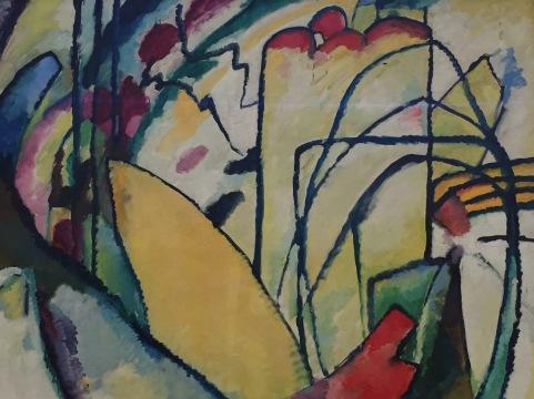 Wassily Kandinsky, Improvisation 10, 1910, Fondation Beyeler, Riehen/Basel, Sammlung Beyeler © starkandart.com