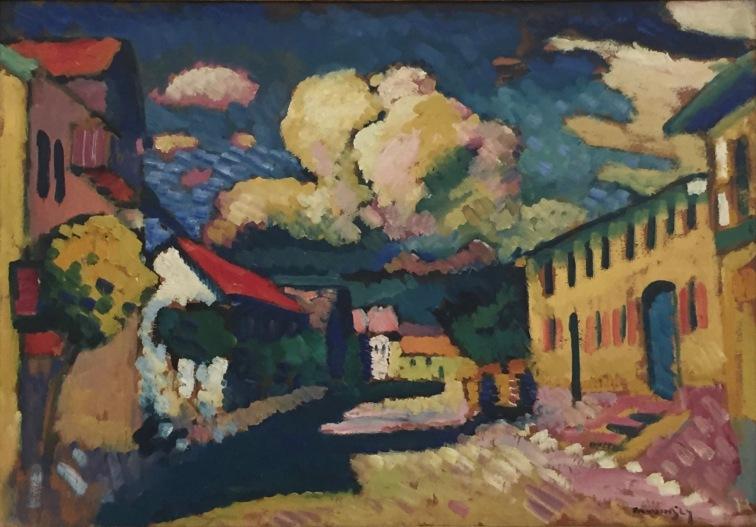 Wassily Kandinsky, Murnau - Dorfstrasse, 1908, Merzbacher Kunststiftung © starkandart.com
