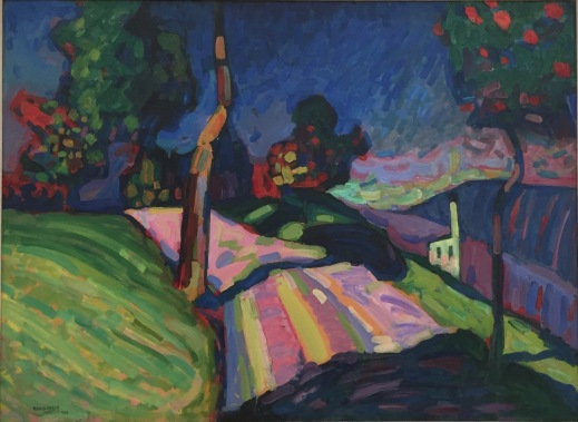 Wassily Kandinsky, Murnau Kohlgruberstrasse, 1908, Merzbacher Kunststiftung ©starkandart.com