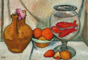 Paula Modesohn-Becker, Stillleben mit Goldfischglas, 1906, Von der Heydt-Museum, Wuppertal