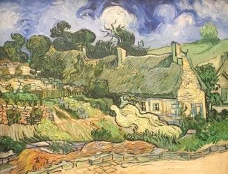 Vincent van Gogh, Chaumes des Cordeville à Anvers-sur-Oise, 1890, Musée d'Orsay, Paris © starkandart.com