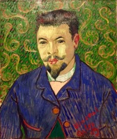 Vincent van Gogh, Porträt des Dr. Felix Rey, Arles 1889, Staatliches Museum für Bildende Künste A. S. Puschkin, Moskau © starkandart.com
