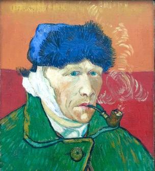 Vincent van Gogh, Selbstbildnis mit verbundenem Ohr, 1889, Kunsthaus Zürich - Privatsammlung © starkandart.com.jpg