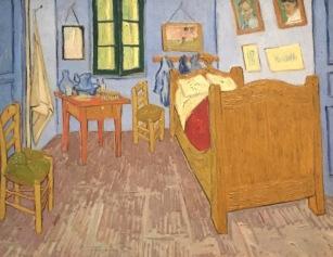 Vincent van Gogh, Van Goghs Zimmer in Arles, 1889, Musée d'Orsay, Paris © starkandart.com