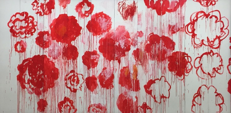 Cy Twombly: cat.173 Blooming, 2001-2008 © starkandart.com