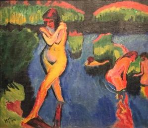 Max Pechstein - Am Seeufer, 1910, Öl auf Leinwand, Hamburger Kunsthalle ©starkandart.com.jpg