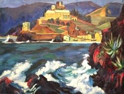 Max Pechstein - Convent von Monterosso, 1924, Öl auf Leinwand, Kunsthalle zu Kiel ©starkandart.com