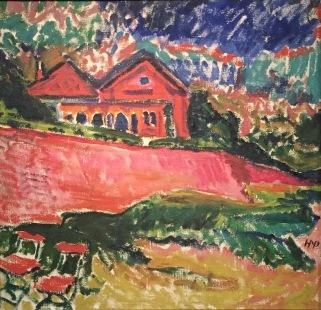 Max Pechstein - Dangaster Landschaft, 1910, Öl auf Leinwand, Collection Gemeentemuseum Den Haag ©starkandart.com.jpg