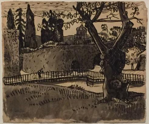 Max Pechstein - Florenz, 1907, Tusche, Privatbesitz ©starkandart.com