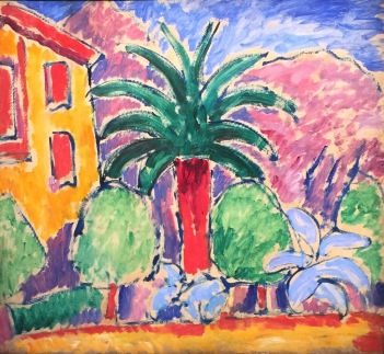 Alexej von Jawlensky, House with palm tree, 1914, Galerie Thomas München © starkandart.com