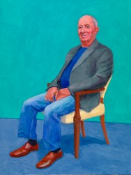 David Hockney David Juda, 22nd, 23rd, 25th March 2015 Acrylic on canvas 121.9 x 91.4 cm © David Hockney Photo credit: Richard Schmidt
