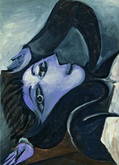 Pablo Picasso, Dora Maar, tête renversée, Öl auf Leinwand, 54,5 x 38 cm, 1939 © Succession Picasso / VG Bild-Kunst, Bonn 2017