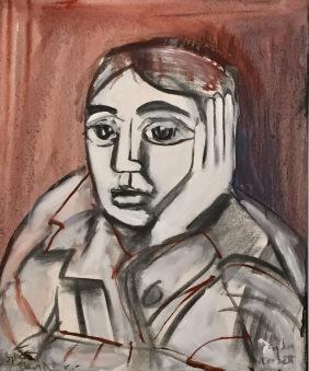 Sylvette David - Lydia Corbett - Picasso in his raincoat ©starkandart.com