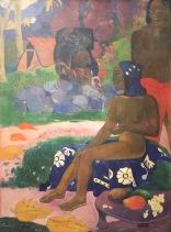 Paul Gauguin, Vaïraumati téi oa (Ihr Name war Vaïraumati) Tahiti, Papeete,1892 - Puschkin Museum, Moskau © starkandart.com