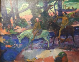 Paul Gauguin, The Ford (The Flight) Tahiti, Papeete,1901 - Puschkin Museum, Moskau © starkandart.com