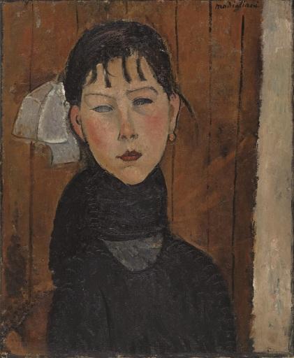 Amedeo Modigliani, Marie (Marie, fille du peuple) 1918, Kunstmuseum Basel