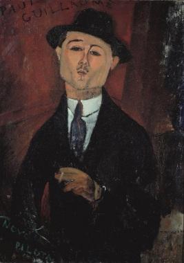 Amedeo Modigliani, Portrait des Kunstsammlers Paul Guillaume (1878-1962), 1915, Musée de l' Orangerie, Paris