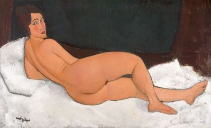 Amedeo Modigliani, Nude, 1917, Private Collection