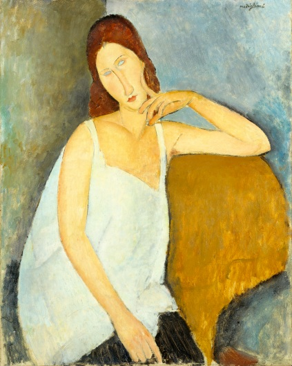 Amedeo Modigliani: Jeanne Hébuterne, 1919 - Metropolitan Museum of Art, New York