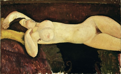 Reclining Nude, 1919, Museum of Modern Art, New York