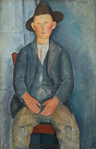 Amedeo Modigliani, The Little Peasant, ca. 1918, Tate London
