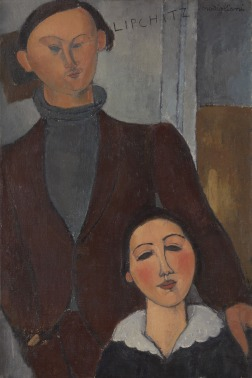 Amedeo Modigliani, Jacques and Berthe Lipchitz, 1916, The Art Institute of Chicago