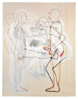 Bruce Nauman, Crime and Punishment (Punch and Judy), 1985. Kunstmuseum Basel, Kupferstichkabinett. Foto: Kunstmuseum Basel, Martin P. Bühler, © Bruce Nauman / 2018, ProLitteris, Zurich