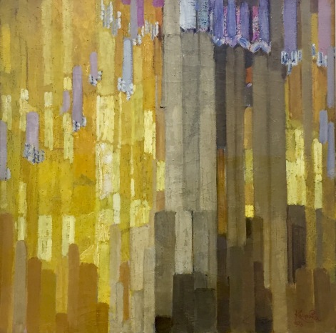 František Kupka - Ordonance sur verticales on jaune, 1913, Contemporary Collection Centre Pompidou, Paris © starkandartcom.jpg