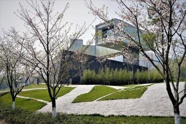Das Sifang Museum. Entworfen von Stephen Holl © Sabine Pollmeier
